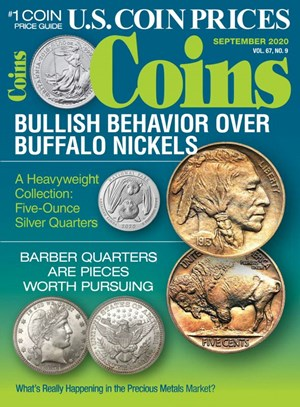 Coins Magazine   9/2020 Cover