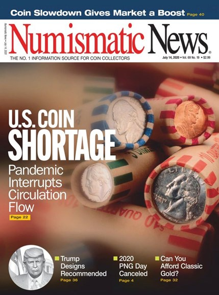 Numismatic News Cover - 7/14/2020