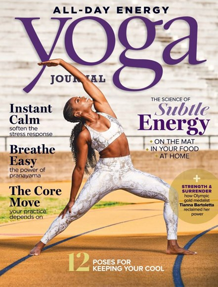 Yoga Journal Cover - 7/1/2020