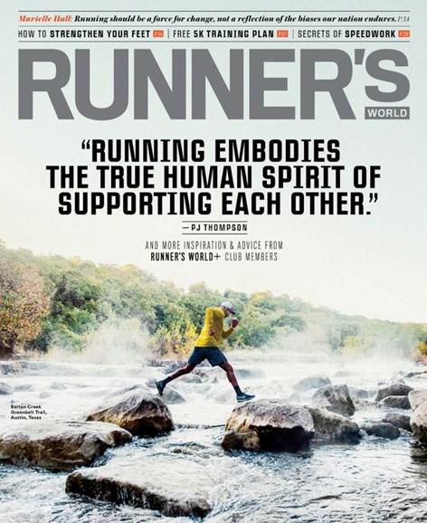 Runner's World Cover - 7/1/2020