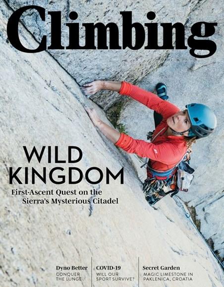 Climbing Magazine Cover - 7/1/2020