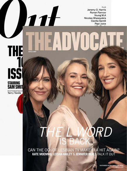 Out & The Advocate Edition Cover - 12/1/2019