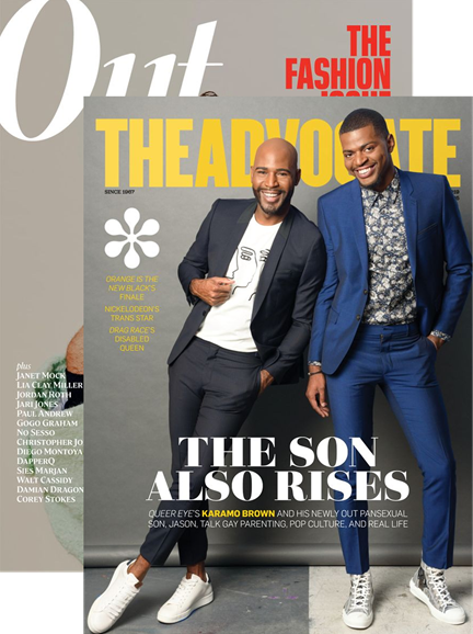 Out & The Advocate Edition Cover - 10/1/2019