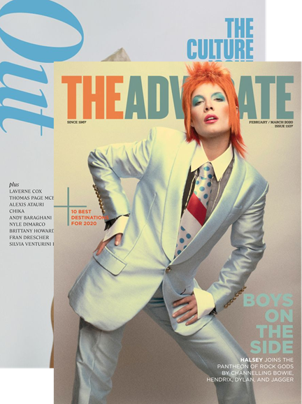 Out & The Advocate Edition Cover - 2/1/2020