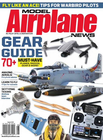 Model Airplane News Cover - 8/1/2020
