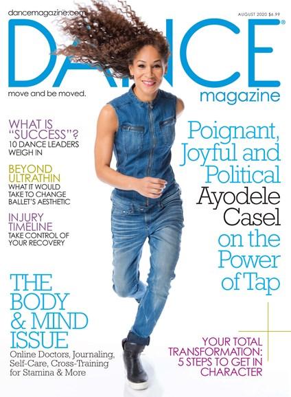Dance Magazine Cover - 8/1/2020