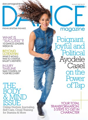 Dance Magazine | 8/2020 Cover