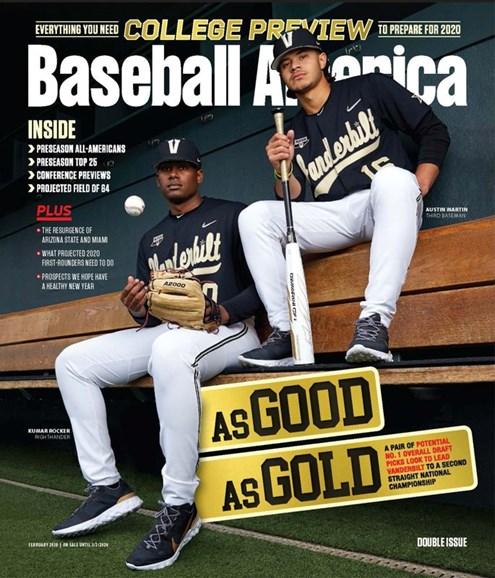 Baseball America Cover - 2/1/2020