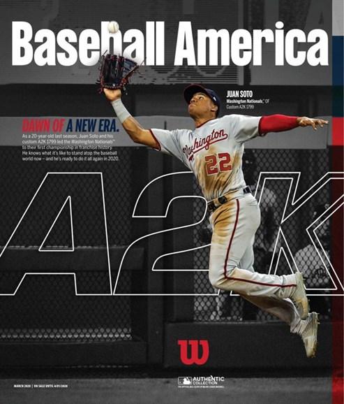 Baseball America Cover - 3/1/2020