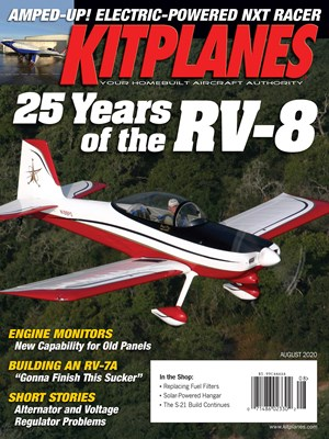 Kit Planes Magazine | 8/2020 Cover