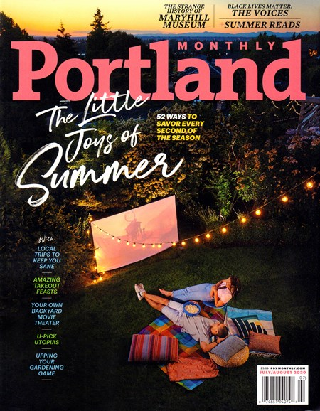 Portland Monthly Cover - 7/1/2020