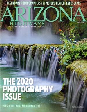 Arizona Highways Magazine | 8/2020 Cover