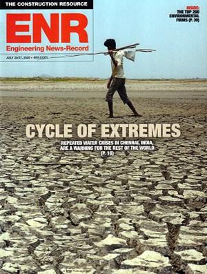 Engineering News Record Magazine   7/20/2020 Cover