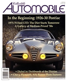 Collectible Automobile | 10/2020 Cover