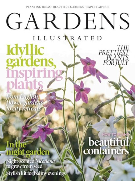Gardens Illustrated Cover - 7/1/2020
