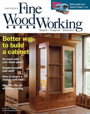 Fine Woodworking Magazine | 10/2020 Cover
