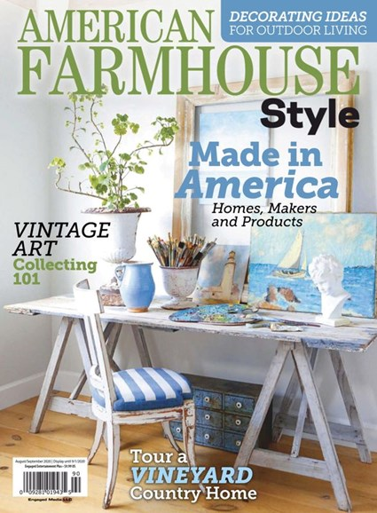 American Farmhouse Style Cover - 8/1/2020