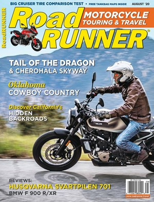 Road RUNNER Motorcycle and Touring Magazine | 8/2020 Cover