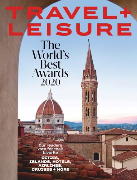 Travel + Leisure Cover - 8/1/2020