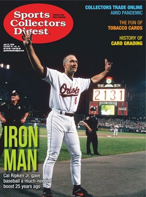 Sports Collectors Digest | 7/31/2020 Cover