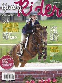 Young Rider Magazine   7/2020 Cover