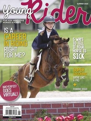 Young Rider Magazine | 7/2020 Cover