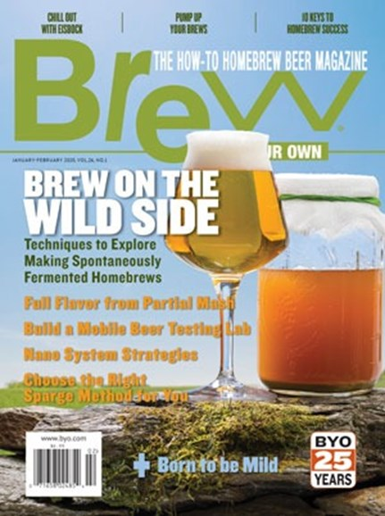 Brew Your Own Cover - 1/1/2020