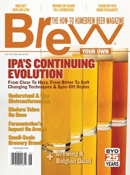 Brew Your Own Cover - 5/1/2020