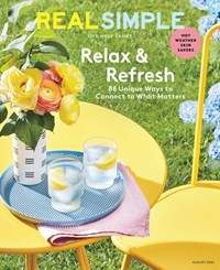 Real Simple Magazine | 8/1/2020 Cover