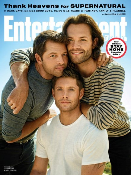 Entertainment Weekly Cover - 5/1/2020
