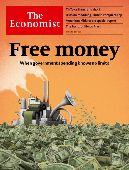 The Economist Cover - 7/25/2020