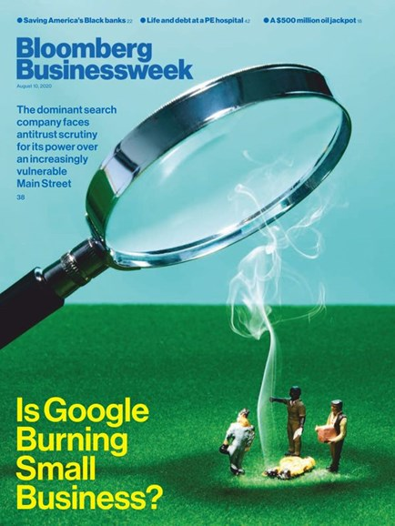 Bloomberg Businessweek Cover - 8/10/2020