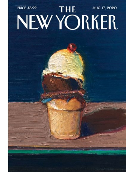 The New Yorker Cover - 8/17/2020