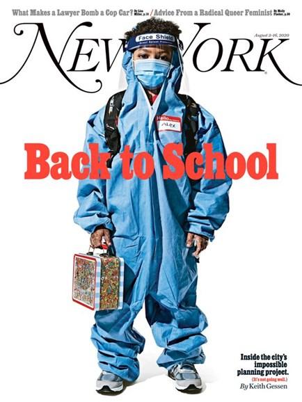New York Magazine Cover - 8/3/2020