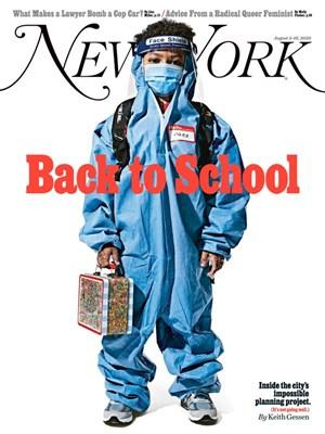 New York Magazine | 8/3/2020 Cover