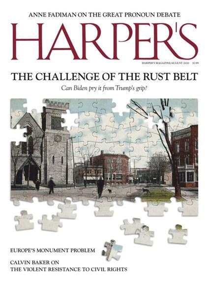 Harper's Cover - 8/1/2020