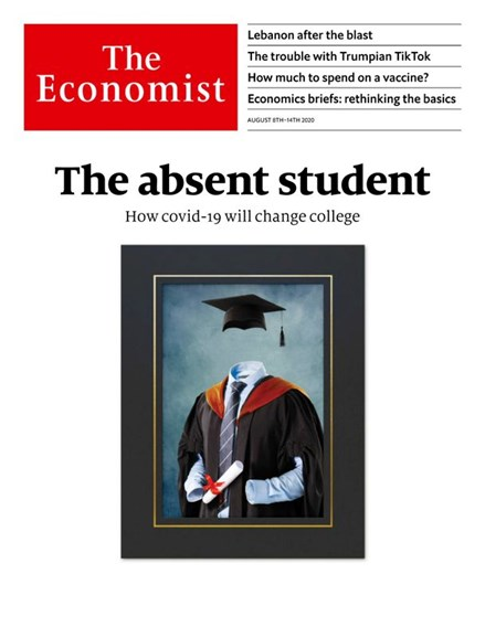 The Economist Cover - 8/8/2020