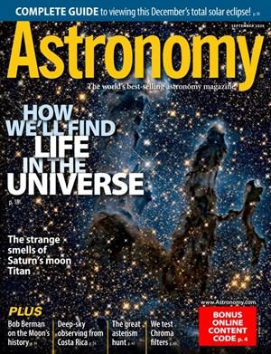 Astronomy Magazine | 9/2020 Cover