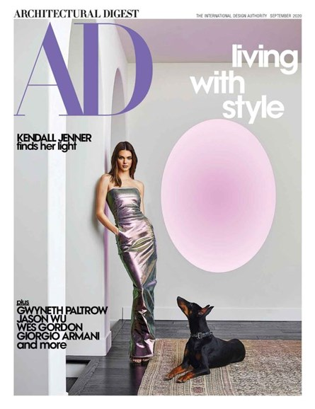 Architectural Digest Cover - 9/1/2020
