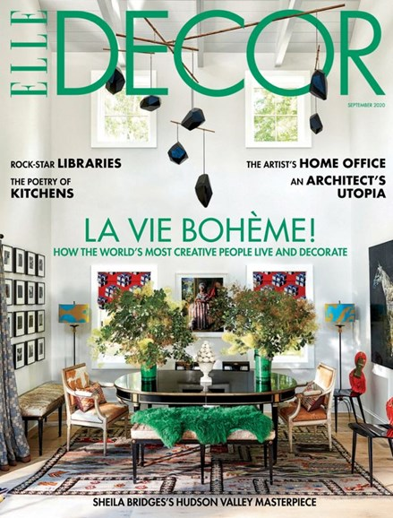 ELLE DECOR Cover - 9/1/2020