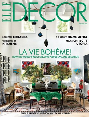 ELLE DECOR Magazine | 9/2020 Cover