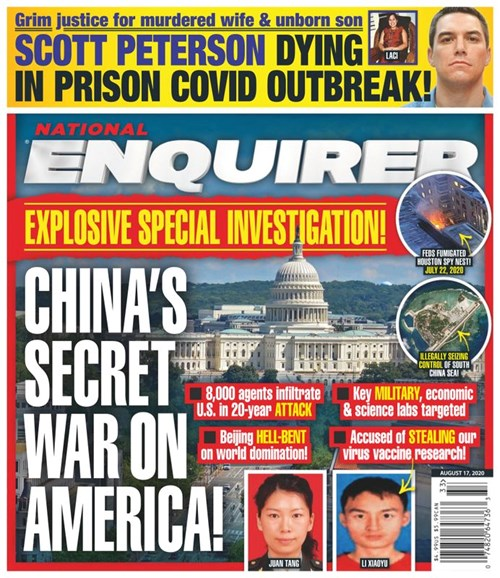 National Enquirer Cover - 8/17/2020