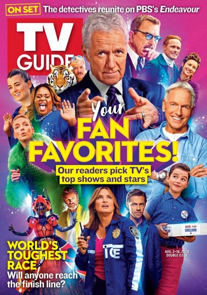 TV Guide Cover - 8/3/2020