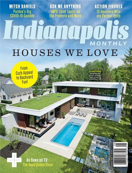 Indianapolis Monthly Cover - 8/1/2020