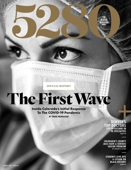 5280 Magazine Cover - 8/1/2020