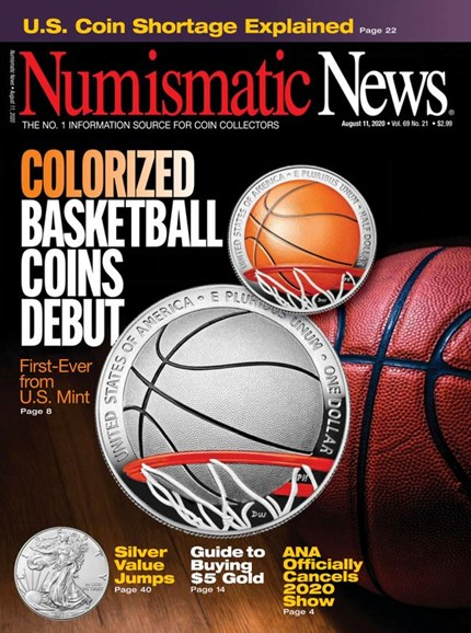 Numismatic News Cover - 8/11/2020