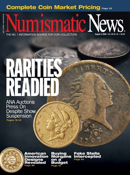 Numismatic News Cover - 8/4/2020