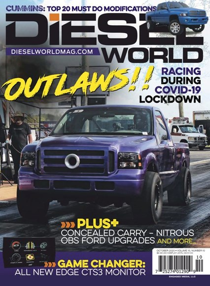 Diesel World Cover - 10/1/2020