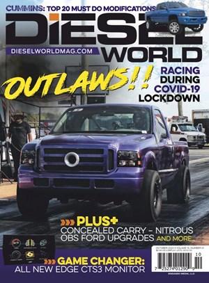 Diesel World Magazine | 10/2020 Cover