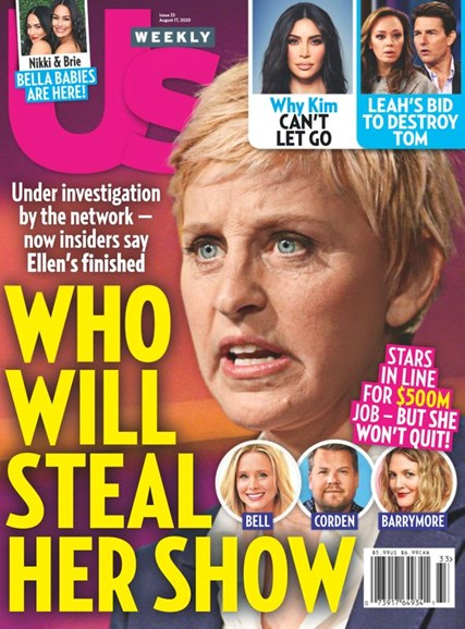 Us Weekly Cover - 8/17/2020